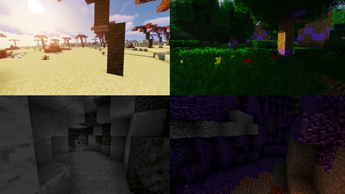 The new biomes