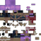 Avengers: Endgame - Thanos (2014) Minecraft Skin