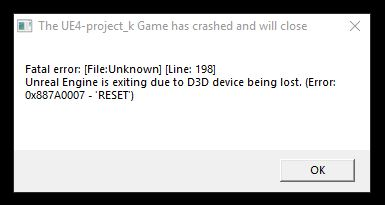 I need an update on d3d device being lost - Page 3 - PC
