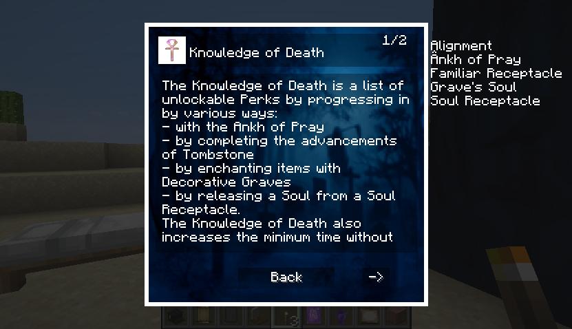 Corail Tombstone : Compendium