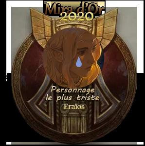 Les résultats des Mira d'Or 2020 !   MdO_2020_PersoTriste