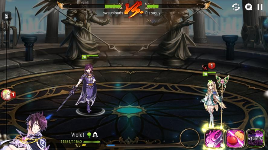 9/10 of my arena matches end like this  violet vs Healer