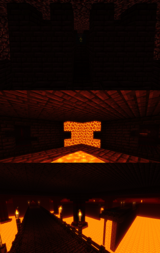 The nether dungeon