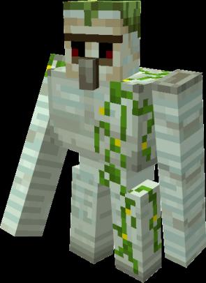 Swamp iron golem by ALEXYSSSJ4 Minecraft Mob Skin