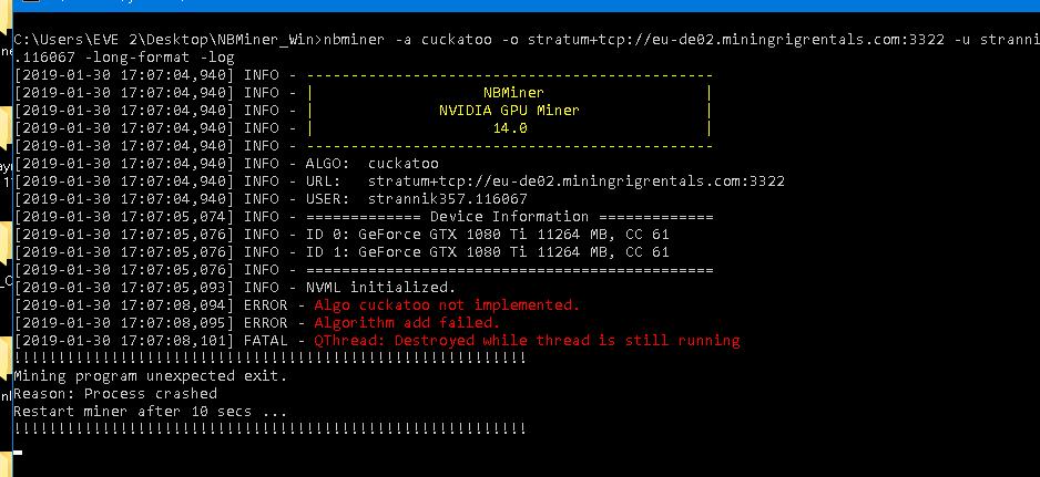 NBMiner v24 4, Nvidia GPU Miner for GRIN, AE, SERO, BTM, ETH