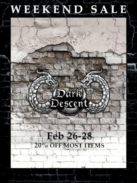 Darkness Descends Weekend Sale