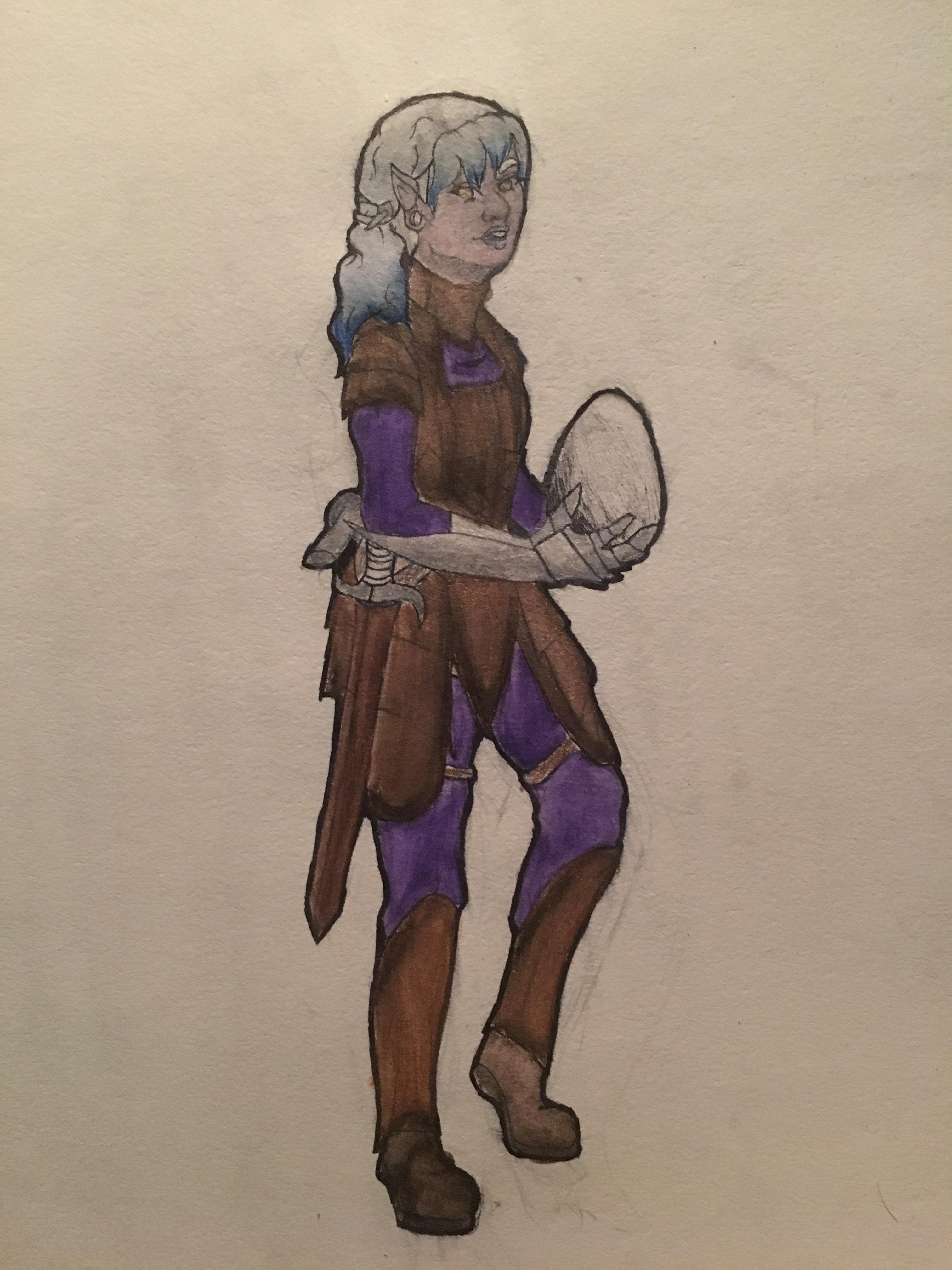 View a character sheet Image0