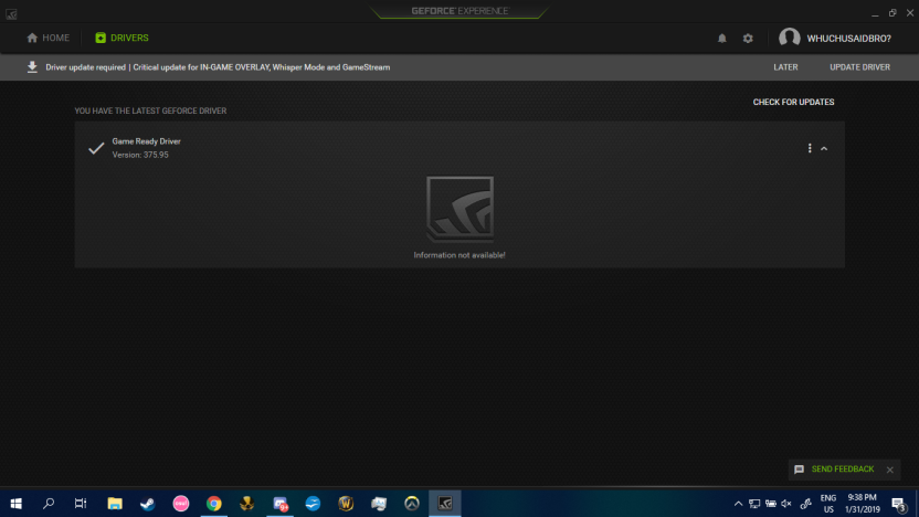 super low fps on any game after driver update - GeForce Forums