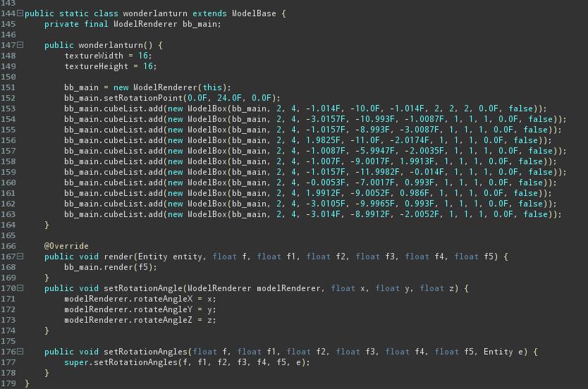 part of code