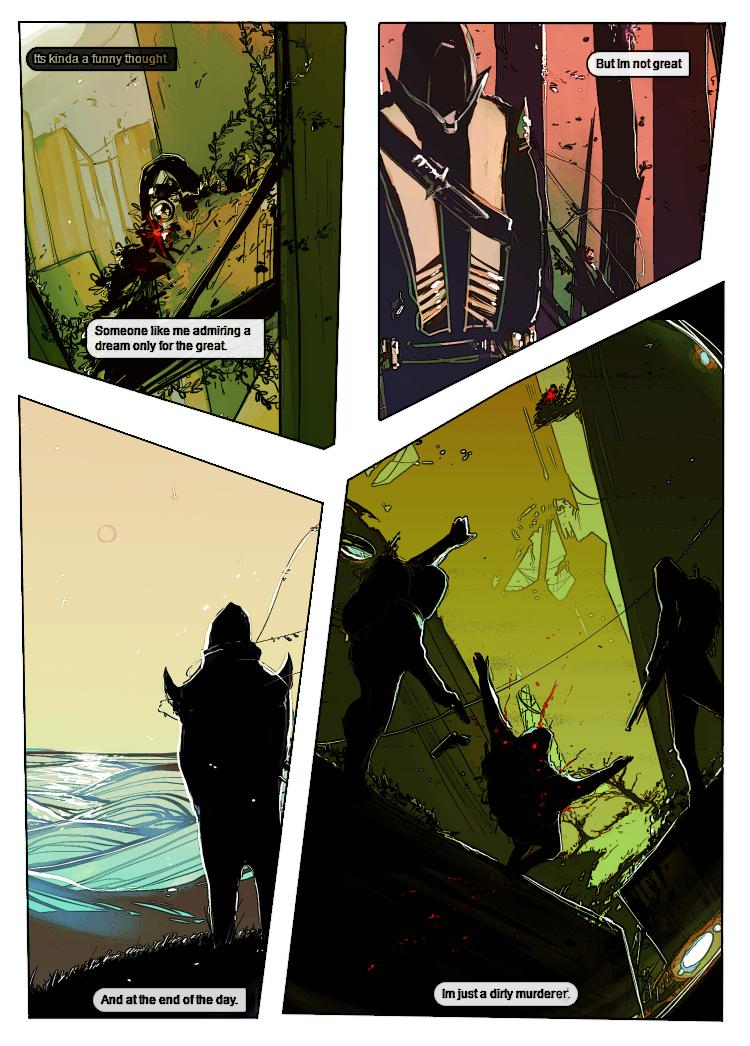 Destiny Short Comic - Sly 1-2