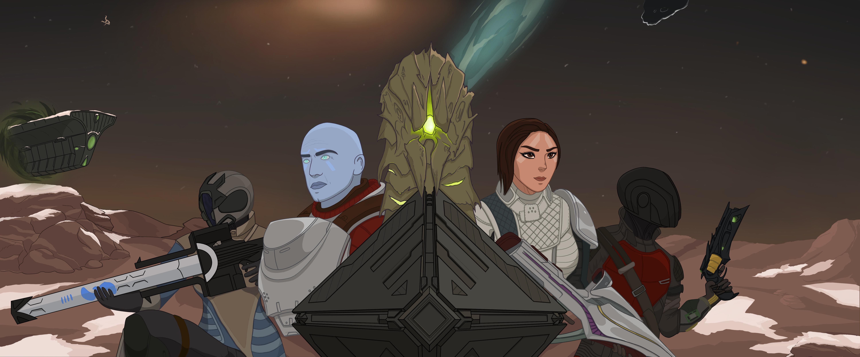 Destiny 2 Warmind Fan Art