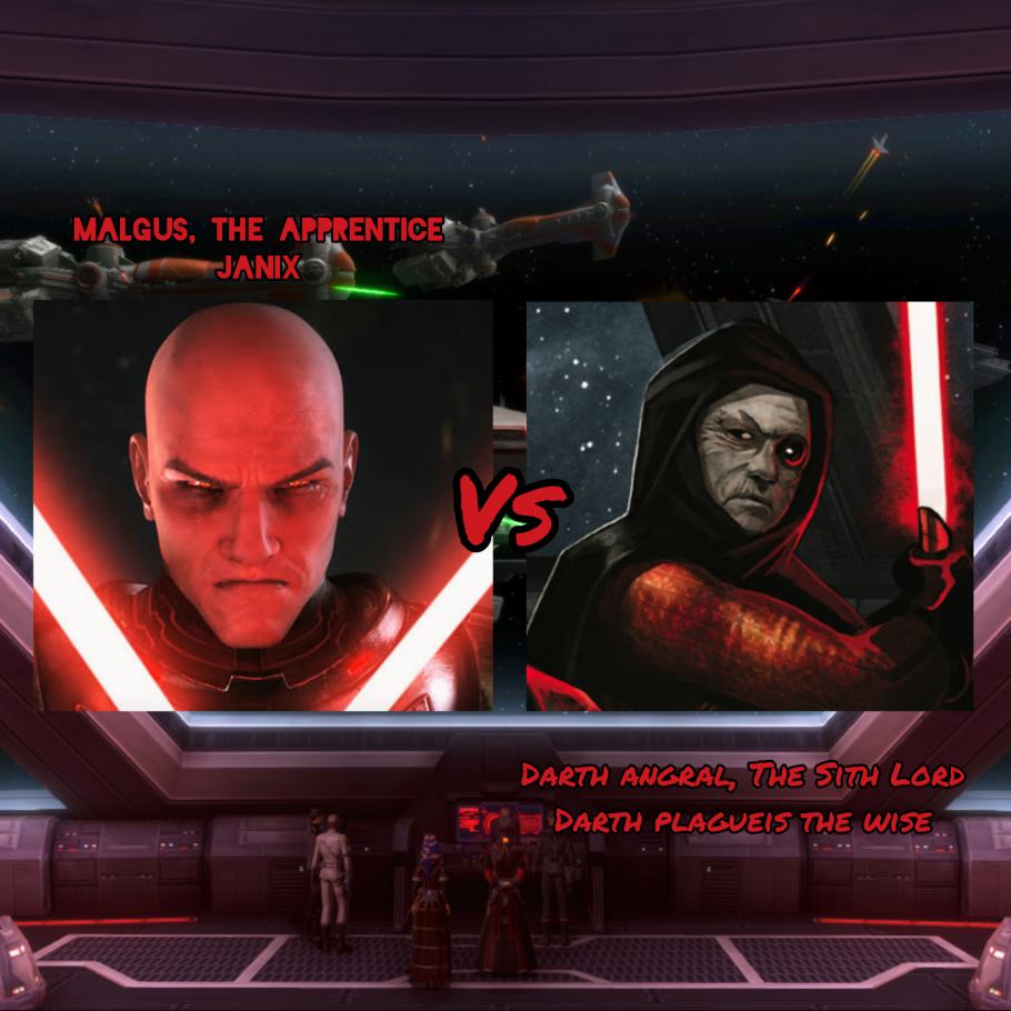 Stomper Showdown R3 #1 - Darth Angral (Darth Plagueis the Wise) vs Return! Darth Malgus (Janix) InShot_20210620_122708389