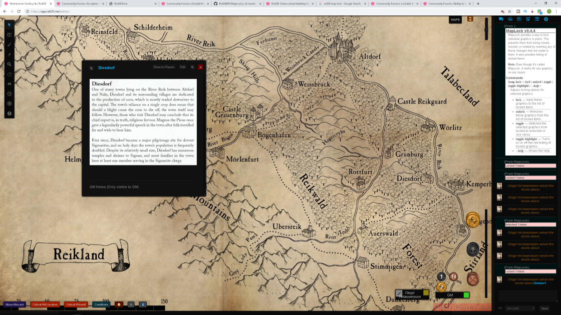 Community Forums: Creating a clickable world map | Roll20 ... on