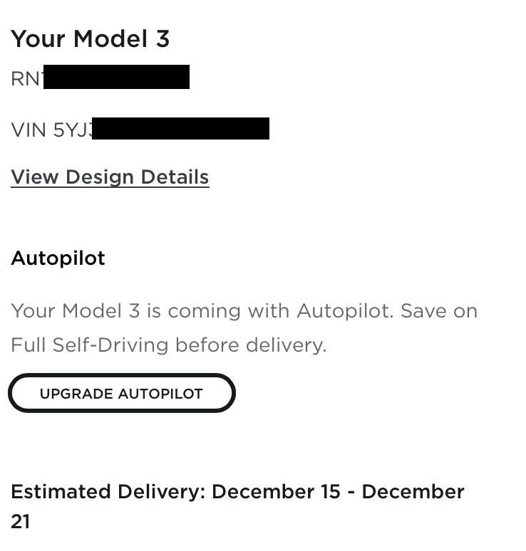 """Refreshed """"2021"""" Model 3 Performance Waiting Room   Page ..."""
