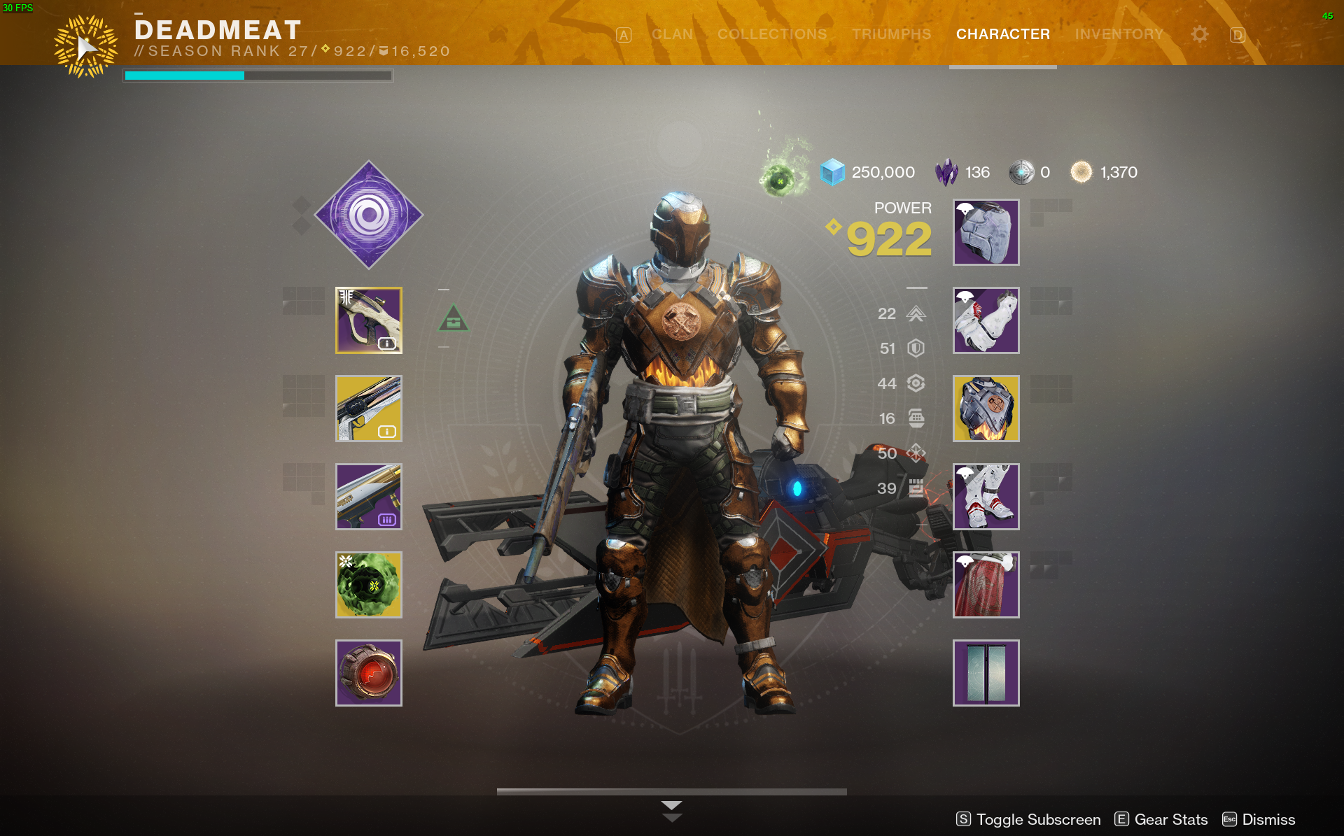 Iron Banner Bronze Warrior