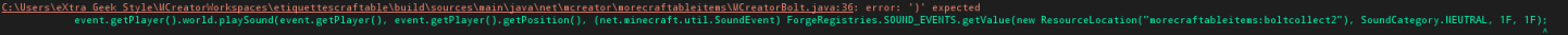 Error in the code, anyone have an idea ?