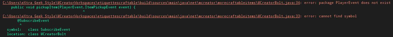 Error in the code