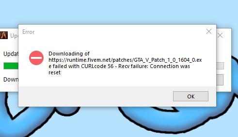FiveM Install Error