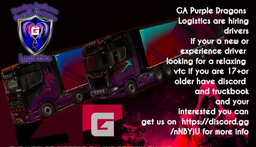 GA Purple Draggon
