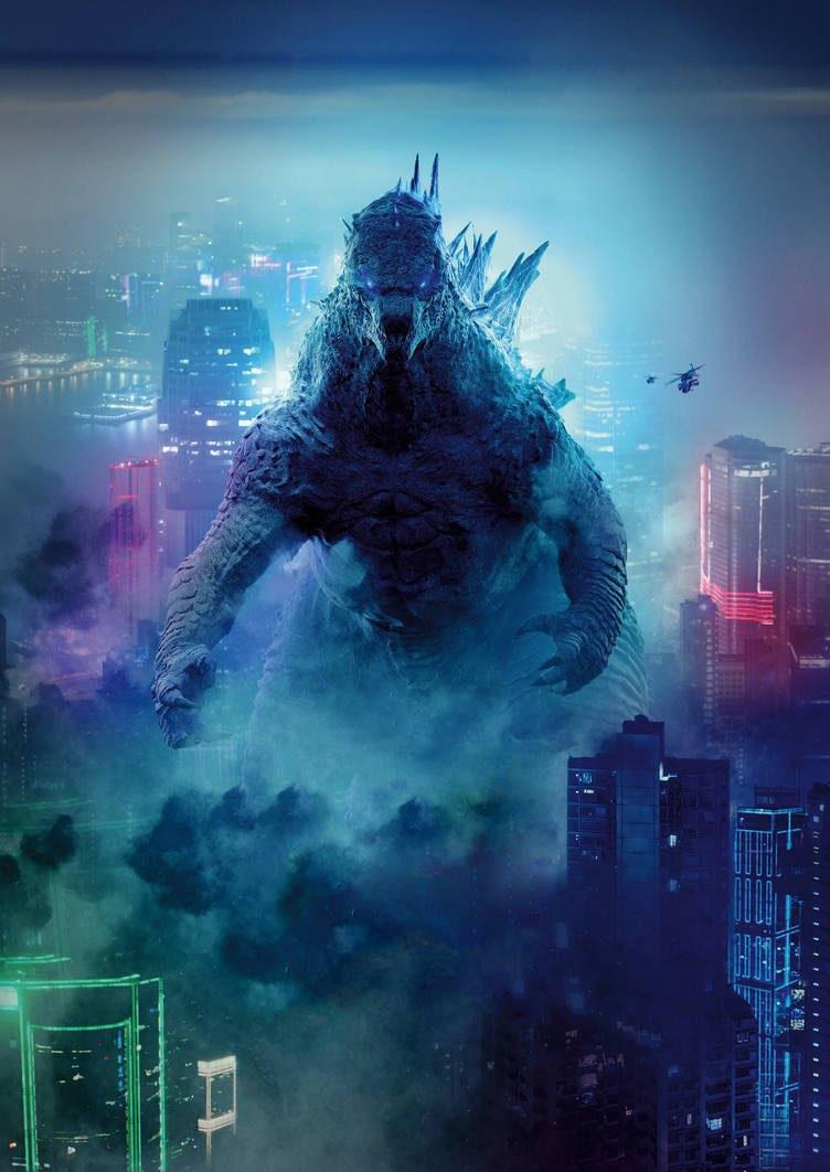 Godzilla (Godzilla Vs. Kong 2021) Minecraft Skin