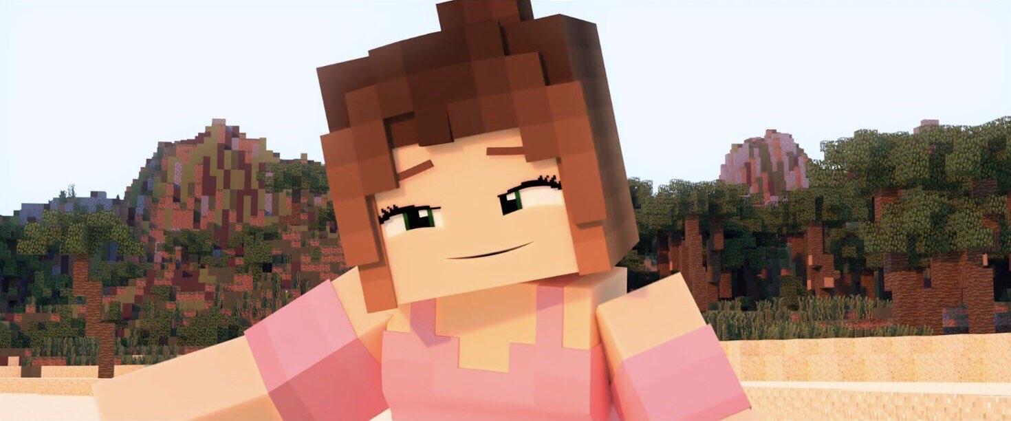 4 ZAMination Original Funny Minecraft Animations with Girls (Eileen & Rebecca)