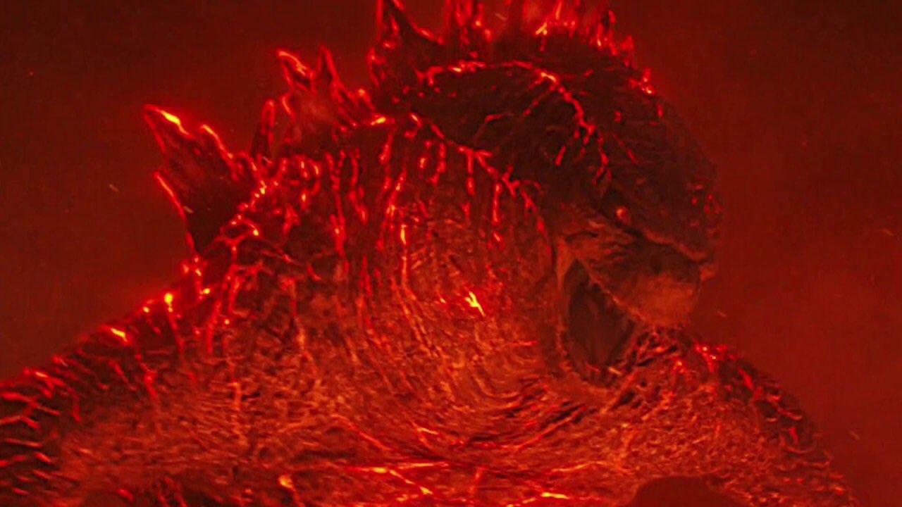 "Burning Godzilla (From ""Godzilla: King Of The Monsters Minecraft Skin"