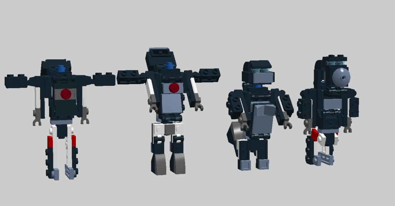 Customs de LeaderOptimus : le côté Lego - Page 3 Optimus_Primal