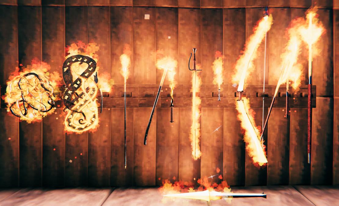 Flametal Weapons