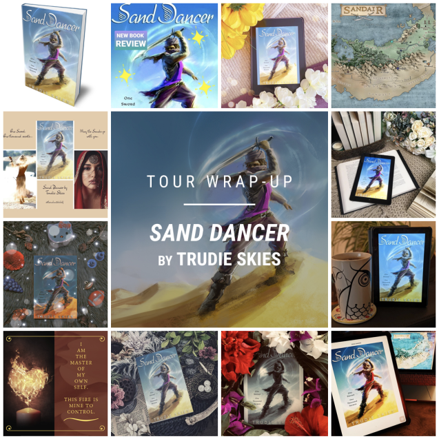 Sand Dancer by Trudie Skies IG wrap up