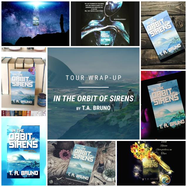 In the Orbit of Sirens by T. A. Bruno IG wrap up