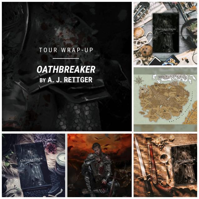 Oathbreaker by A. J. Rettger IG wrap up