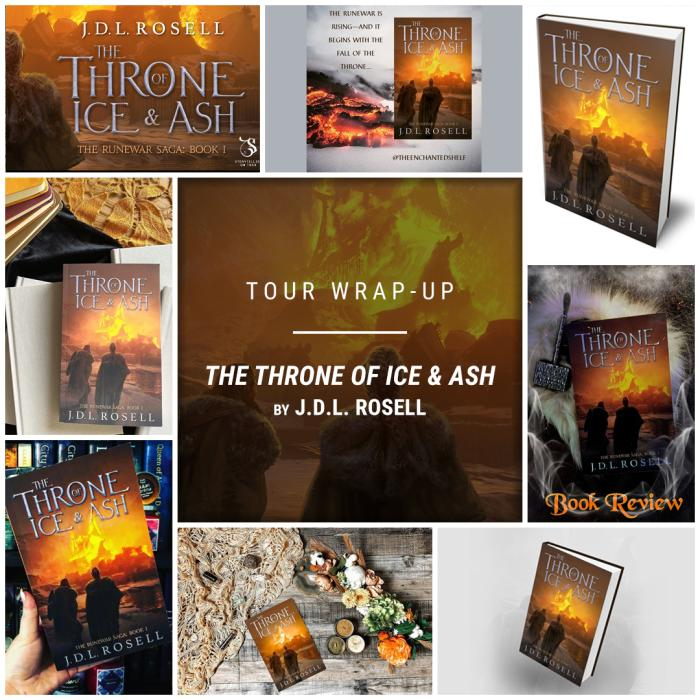 The Throne of Ice & Ash by J.D.L. Rosell IG wrap up