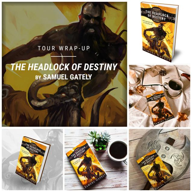 The Headlock of Destiny by Samuel Gately IG wrap up