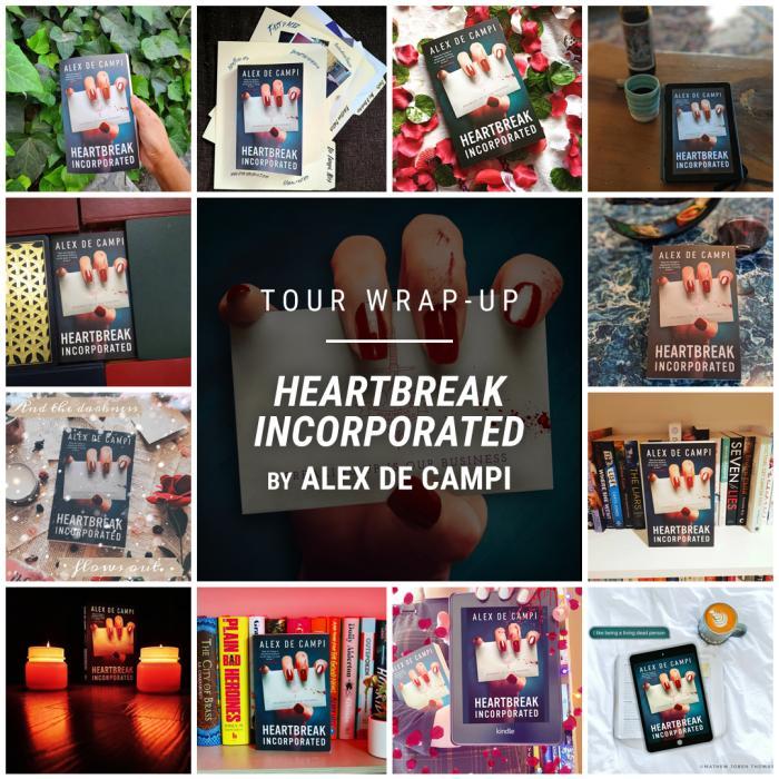 Heartbreak Incorporated by Alex de Campi IG wrap up