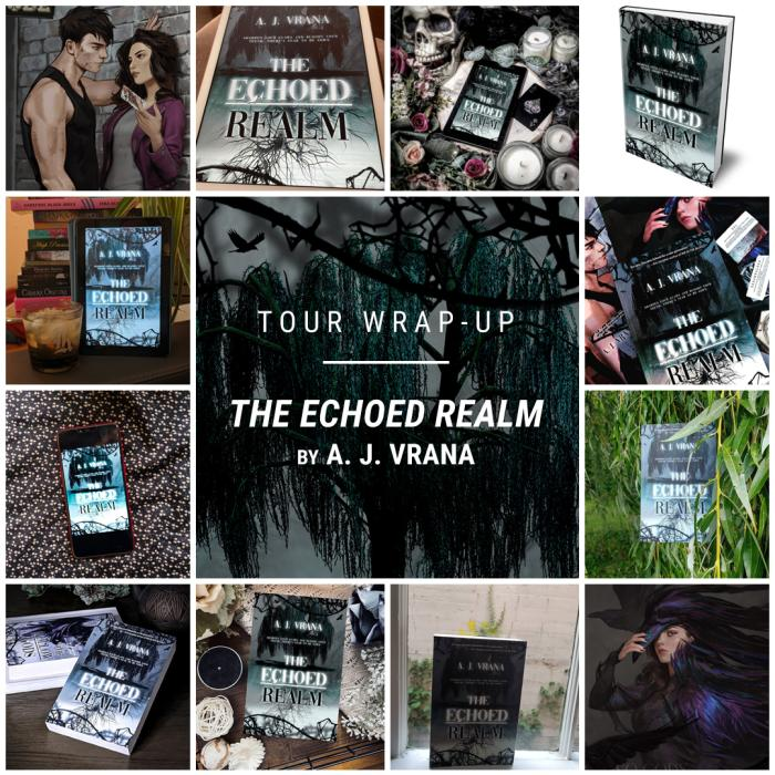 The Echoed Realm by A. J. Vrana IG wrap up