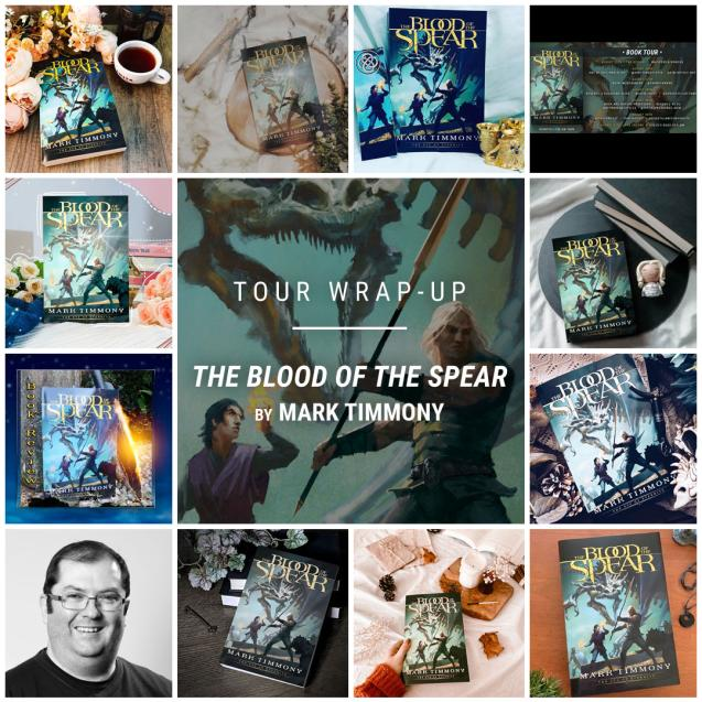 The Blood of the Spear by Mark Timmony IG wrap up