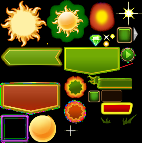 Sun Sale event icons 2