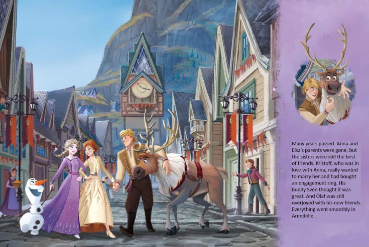 La Reine des Neiges II [Walt Disney - 2019] - Page 21 Spread_2B