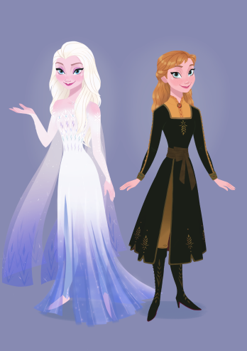 La Reine des Neiges II [Walt Disney - 2019] Reunion