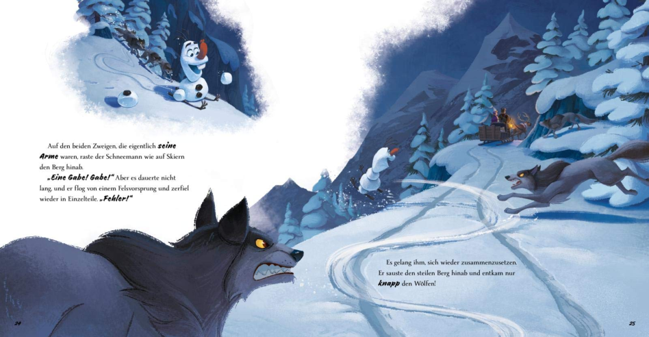 Les Aventures d'Olaf [Disney - 2020] - Page 2 71d1N1ao4ML