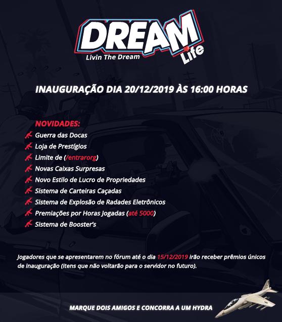 [Projeto] - Brasil Dream Life @RPG Inauguracao