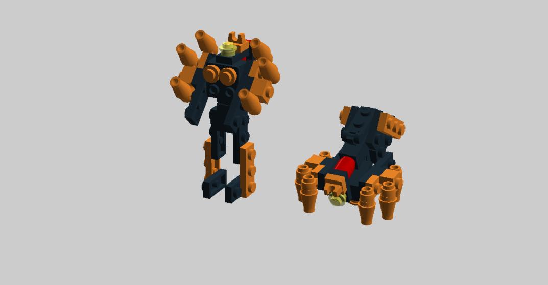 Customs de LeaderOptimus : le côté Lego - Page 3 Blackarachnia
