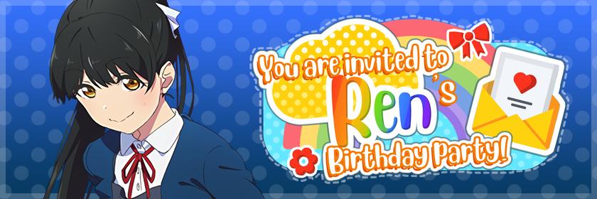 Ren birthday