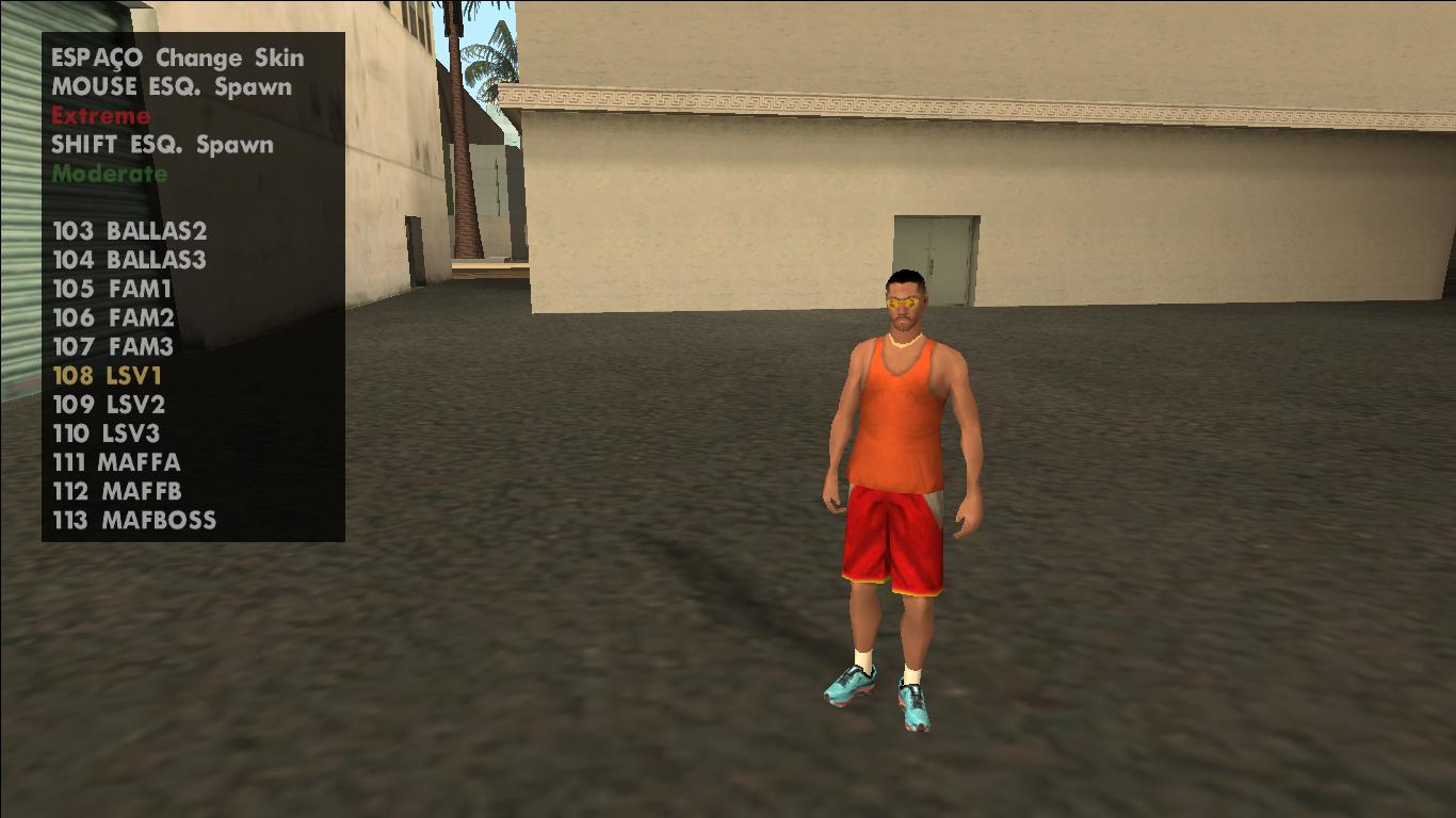 [SA] Criar variação de pedestre com PedFuncs Unknown