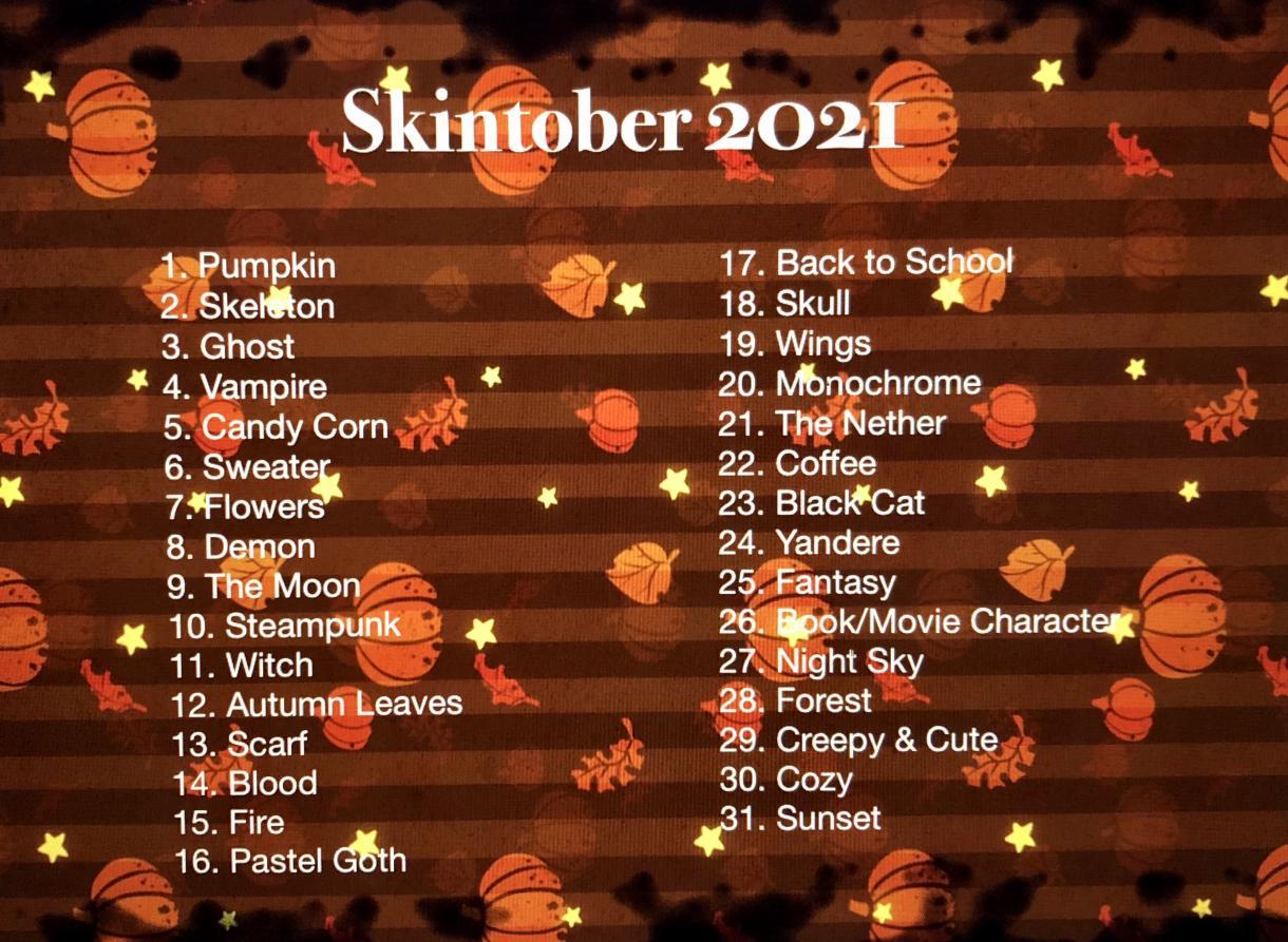 pumpkin | skintober (1) Minecraft Skin