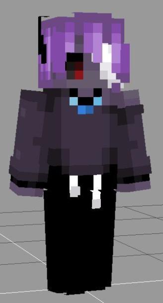 ʍɑʀɑ   black magic - oc Minecraft Skin