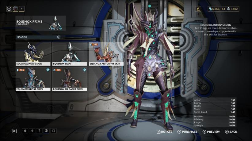 equinox_prime_antonym_skin_tennocon_bug.