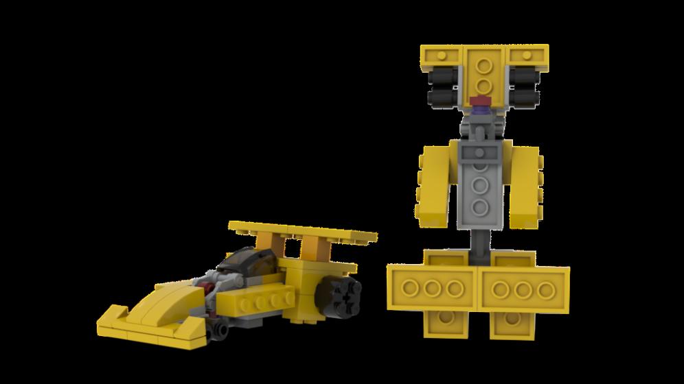 Customs de LeaderOptimus : le côté Lego - Page 4 Rendu_Dragstrip_Studio