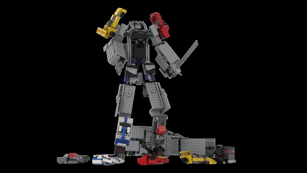 Customs de LeaderOptimus : le côté Lego - Page 4 Rendu_Menasor_Studio