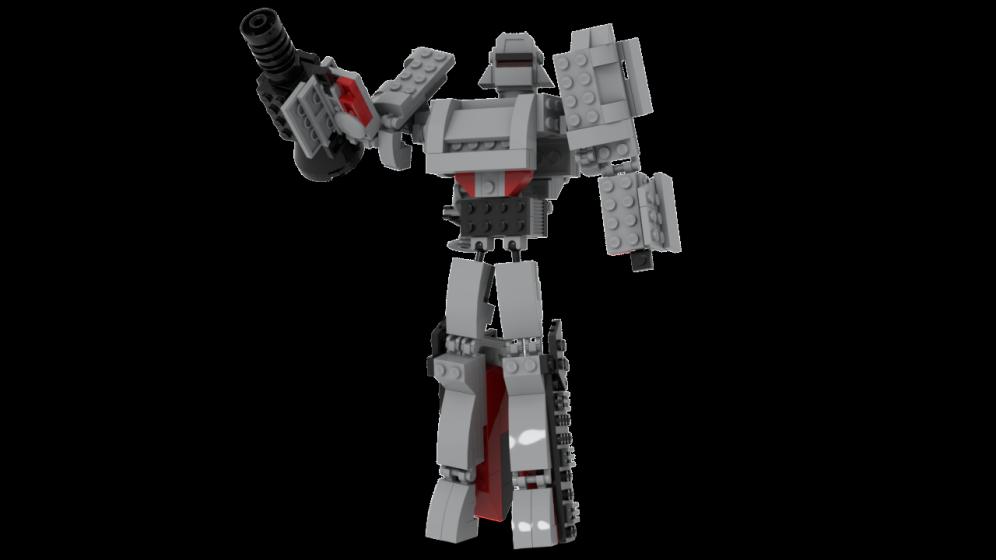 Customs de LeaderOptimus : le côté Lego - Page 4 Rendu_Megatron_studio_1